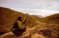 ایف سی بلوچستان کی پنجگورکے علاقے گوارگو میں کالعدم تنظیم کیخلاف کارروائی،