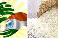لاہور، بھارت نے پاکستانی باسمتی اپنے نام سے رجسٹر کرالیا ،