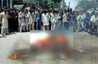 کراچی، بلدیہ ٹاؤن میں مبینہ مقابلہ، 2 ملزمان ہلاک،2 گرفتار