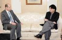 وزیر داخلہ سے برطانوی ہائی کمشنر کی ملاقات ، الطاف حسین کیخلاف رینجرز ..