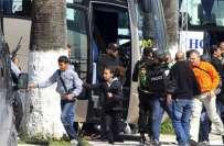 تیونس کی پارلیمنٹ کے قریب مسلح افراد کے حملے میں غیر ملکیوں سمیت 20 افراد ..