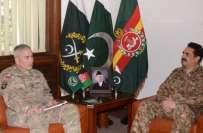ٓارمی چیف جنرل راحیل شریف سے افغانستان میں اتحادی فوج کے کمانڈرجنرل ..