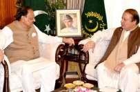 صدر مملکت ممنون حسین سے وزیر اعظم نواز شریف کی ملاقات، ملک کی سیاسی ..