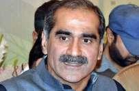 سندھ میں گورنر راج کی کوئی تجویز زیرغور نہیں ، خواجہ سعد رفیق ،