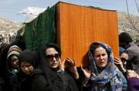 روایات کے برعکس جنازہ عورتوں نے اٹھایا