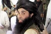 وادی تیرہ میں کالعدم تنظیم تحریک طالبان پاکستان کے سربراہ مولوی فضل ..