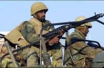 فرنٹےئرکور بلوچستان کی لورالائی کے علاقے سنجاوی میں کارروائی ،یوم ..