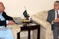 وفاقی وزیرخزانہ سے بلوچستان کے وزیراعلیٰ کی ملاقات،بلوچستان میں جاری ..