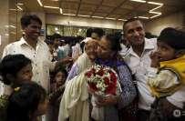 پی آئی کا طیارہ 134محصورین کو لیکر وطن واپس پہنچ گیا