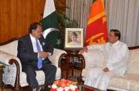 سری لنکن ٹیم جلد پاکستان کا دورہ کرے گی : سری لنکن صدر کی یقین دہانی