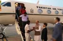 یمن سے انخلاء کے بعد پاکستان لائے گئے 11 بھارتی شہری خصوصی طیارے کے ذریعے ..
