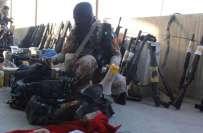 نائن زیرو سے برآمد کیے گئے ہتھیاروں میں سے 53 غیر لائسنس شدہ ہیں: رینجرز
