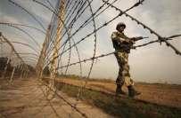 بھارتی فوج کی جانب سے شکرگڑھ ورکنگ باؤنڈری پر بلااشتعال فائرنگ کی جارہی ..