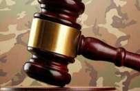 نیشنل ایکشن پلان کے تحت قائم کی گئیں فوجی عدالتوں سے 6 دہشت گردوں کی ..