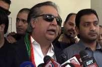 این اے246میں تحریک انصاف کے امیدوارعمران اسماعیل کو انتخابی مہم کے بعد ..
