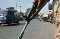 شاہ فیصل کالونی میں عید گاہ گراوَنڈ کے قریب فائرنگ، سابق پولیس ڈی ایس ..