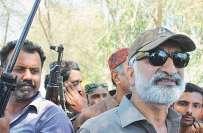 ذوالفقار مرزا کو اسلحہ فراہم کرنے کا شبہ، کراچی کے علاقے زمزمہ میں ..