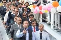 میٹروبس پراجیکٹس سے نرم انقلاب آ گیاہے ، پاکستان جلد ایشین ٹائیگر بنے ..