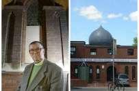 لندن میں مسجد میں آتشزدگی کے حادثے کے بعدمقامی چرچ نے نمازیوں کیلئے ..
