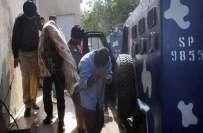 نائن زیرو سے گرفتار ایم کیو ایم کے کارکن شاہد نے 10افراد کو قتل کرنے ..