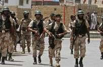 رینجرز اور ایف آئی اے کا کراچی میں محکمہ لینڈ سندھ کے دفتر پر چھاپہ