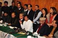 تحریک انصاف نے جوڈیشل کمیشن کا فیصلہ من و عن قبول کرنے کا فیصلہ کرلیا
