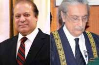 چیف جسٹس آف پاکستان نے وزیراعظم کی درخواست پر شکریہ کے ساتھ معذرت کرلی