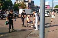 شمالی فرانس میں ہائی سپیڈ ٹرین میں فائرنگ، 2افراد زخمی