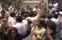 مسلم لیگ ن کا ایک اور گلو بٹ سامنے آ گیا