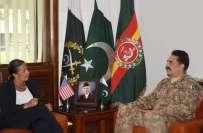 آرمی چیف سے امریکی سلامتی کی مشیر کی ملاقات، پاک فوج کی خدمات کو سراہا، ..