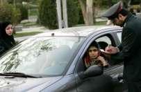 ایران میں مکمل حجاب نہ کرنے والی خواتین ڈرائیورز پر جرمانہ کرنے کا ..
