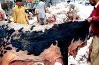 کراچی میں عید الاضحی پر گھر گھر جا کر قربانی کی کھالیں جمع کرنے پر پابندی ..