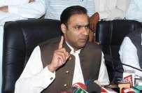 وزیر مملکت پانی وبجلی عابد شیرعلی نے ناقص کارکردگی پر ایگزیکٹو انجنئیر ..