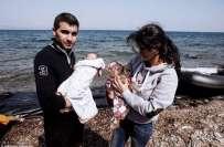 شامی جوڑے نے ملک سے بھاگنے کیلئے اپنے جڑواں بچوں کی زندگی خطرے میں ڈال ..