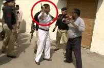 معروف رپورٹر چاند نواب پر ریلوے پولیس اہلکار کا تشدد، خواجہ سعد رفیق ..
