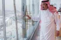 منی حادثہ، سعودی فرمانروا  شاہ سلمان جائے وقوعہ پر پہنچ گئے