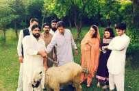 عمران خان کی جانب سے عید الالضحیٰ پر9بکروں اور1چھترے کی قر بانی دی گئی