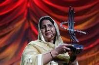 پاکستانی کی خاتون سماجی کارکن سیدہ غلام فاطمہ کو ان کی خدمات کے اعزاز ..