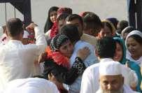 منی حادثے میں ایک بزرگ پاکستانی کی اپنی اہلیہ کو موت سے بال بال بچاںے ..