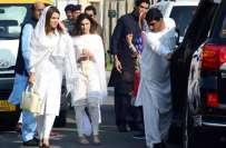 ریحام خان نے دوبارہ سیاسی سر گر میوں میں حصہ لینے کا آغاز کر دیا
