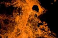 لاطینی امریکا کے ملک گوئٹے مالا میں مشتعل ہجوم نے میئر کو کوڑے مارنے ..
