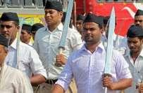 ہندوستانی وزیراعظم نریندر مودی کی تنظیم آر ایس ایس کو امریکہ میں دنیا ..