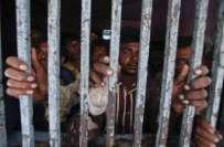 کراچی،سمندری حدود کی خلاف ورزی،27بھارتی ماہی گیر گرفتار