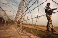 بھارتی فوج کی جانب سے شکرگڑھ بھوپال پور سیکٹر پر بلا اشتعال فائرنگ