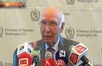 بھارت پاکستان میں دہشتگردی میں ملوث ہے، سرتاج عزیز