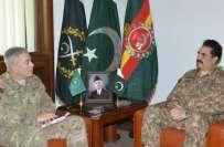 آرمی چیف راحیل شریف کی افغانستان میں امریکی فوج کے سربراہ جنرل جان ..