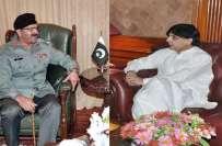 وزیر داخلہ چوہدری نثار کا ڈی جی رینجرز سندھ سے ٹیلی فونک رابطہ