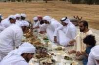 متحدہ عرب امارات کے وزیراعظم شیخ محمد بن راشد المخدوم کی تصویر نے سوشل ..