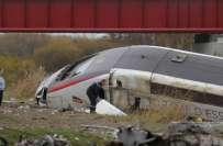 پیرس حملوں کے بعد فرانس کی بلٹ ٹرین کو حادثہ