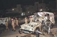 کراچی میں ناردرن بائی پاس کے قریب فائرنگ کے واقعے میں رینجر اہلکار ..